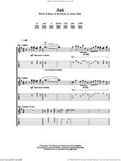 Cover icon of Ask sheet music for guitar (tablature) by The Smiths, Johnny Marr and Steven Morrissey, intermediate skill level