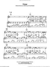 Cover icon of Hope sheet music for voice, piano or guitar by Emeli Sande and Alicia Keys, intermediate skill level