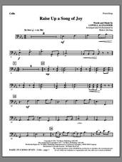 Cover icon of Raise Up A Song Of Joy sheet music for orchestra/band (cello) by Lowell Alexander and Robert Sterling, intermediate skill level