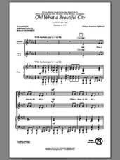 Cover icon of Oh, What A Beautiful City sheet music for choir (SSA: soprano, alto) by Rollo Dilworth and Miscellaneous, intermediate skill level