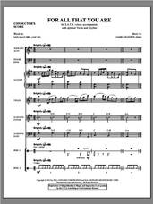 Cover icon of For All That You Are (complete set of parts) sheet music for orchestra/band (Instrumental Parts) by James Koerts and Jan McGuire, intermediate skill level