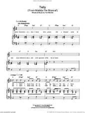 Cover icon of Telly ('From Matilda The Musical') sheet music for voice and piano by Tim Minchin, intermediate skill level