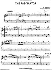 Cover icon of The Fascinator sheet music for piano solo by James Scott and Phillip Keveren, easy skill level