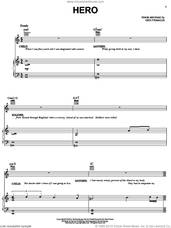 Cover icon of Hero sheet music for voice, piano or guitar by Kirk Franklin, intermediate skill level