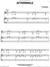 Cover icon of Afterwhile sheet music for voice, piano or guitar by Kirk Franklin, intermediate skill level