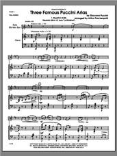 Cover icon of Three Famous Puccini Arias (COMPLETE) sheet music for alto saxophone and piano by Giacomo Puccini and Steve Frackenpohl, classical score, intermediate skill level