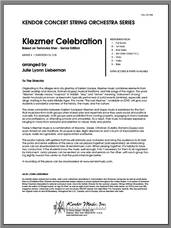 Cover icon of Klezmer Celebration (based on Ternovka Sher) (Senior Edition) (COMPLETE) sheet music for orchestra by Julie Lyonn Lieberman, classical score, intermediate skill level