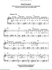 Cover icon of Hurt Lovers sheet music for piano solo , Alexander Zuckowski, David Jost, James Duncan, Jez Ashurst, Martin Fliegenschmidt and Ryan Lee, easy skill level