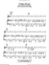Cover icon of I Follow Rivers sheet music for voice, piano or guitar by Lykke Li, Bjorn Yttling, Lykke Li Zachrisson and Rick Nowels, intermediate skill level