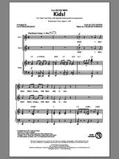 Cover icon of Kids! sheet music for choir (2-Part) by Alan Billingsley, Charles Strouse and Lee Adams, intermediate duet