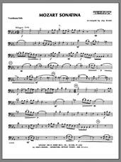 Cover icon of Mozart Sonatina (complete set of parts) sheet music for trombone and piano by Wolfgang Amadeus Mozart and Ernst, Heinrich Wilhelm, classical score, intermediate skill level
