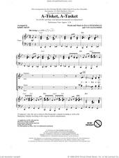 Cover icon of A-Tisket, A-Tasket sheet music for choir (SATB: soprano, alto, tenor, bass) by Ella Fitzgerald, Van Alexander, Kirby Shaw and Manhattan Transfer, intermediate skill level