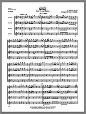Cover icon of Spring (from The Four Seasons) (COMPLETE) sheet music for flute quartet by Antonio Vivaldi and Frank J. Halferty, classical score, intermediate skill level