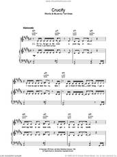 Cover icon of Crucify sheet music for voice, piano or guitar by Tori Amos, intermediate skill level