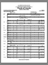 Cover icon of Words of Lincoln (COMPLETE) sheet music for orchestra/band by John Purifoy, intermediate skill level
