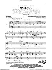 Cover icon of Over You sheet music for choir (SSA: soprano, alto) by Ed Lojeski and Miranda Lambert, intermediate skill level