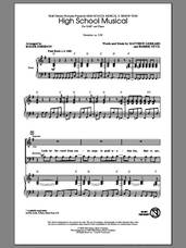 Cover icon of High School Musical sheet music for choir (SAB: soprano, alto, bass) by Roger Emerson, intermediate skill level