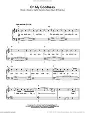 Cover icon of Oh My Goodness sheet music for piano solo by Olly Murs, Adam Argyle, Martin Brammer and Oliver Murs, easy skill level