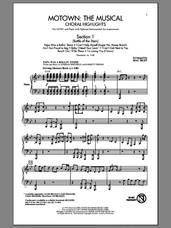 Cover icon of Motown The Musical (Choral Highlights) sheet music for choir (SATB: soprano, alto, tenor, bass) by Mac Huff, intermediate skill level