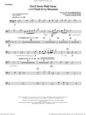 Cover icon of You'll Never Walk Alone (with Climb Every Mountain) sheet music for orchestra/band (trombone) by Richard Rodgers, Margery McKay, Patricia Neway, Tony Bennett, Mark Hayes and Oscar II Hammerstein, intermediate skill level