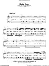 Cover icon of Battle Scars sheet music for piano solo by Guy Sebastian Feat. Lupe Fiasco, David Harris, Guy Sebastian and Wasalu Jaco, easy skill level