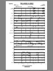 Cover icon of The American Spirit (COMPLETE) sheet music for orchestra/band by Mark Hayes and Pamela T. Stewart, intermediate skill level