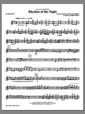 Cover icon of Rhythm of the Night (complete set of parts) sheet music for orchestra/band by Kirby Shaw, DeBarge and Diane Warren, intermediate skill level