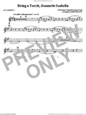 Cover icon of Bring a Torch, Jeanette Isabella sheet music for orchestra/band (Bb clarinet 2) by John Leavitt and Miscellaneous, intermediate skill level