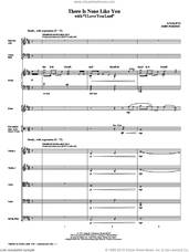 Cover icon of There Is None Like You (with I Love You Lord) (complete set of parts) sheet music for orchestra/band (Special) by John Purifoy, Laurie Klein and Lenny LeBlanc, intermediate skill level