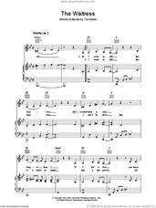 Cover icon of The Waitress sheet music for voice, piano or guitar by Tori Amos, intermediate skill level