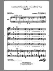 Cover icon of The Most Wonderful Time Of The Year sheet music for choir (TTBB: tenor, bass) by George Wyle, Jerry Rubino, Andy Williams and Eddie Pola, intermediate skill level