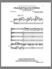 Cover icon of Chanukah Prayer for Children sheet music for choir (SATB: soprano, alto, tenor, bass) by Ryan Brechmacher and Ian Pomerantz, intermediate skill level