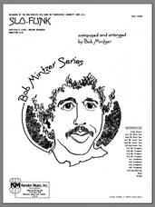 Cover icon of Slo-Funk (COMPLETE) sheet music for jazz band by Bob Mintzer, intermediate skill level