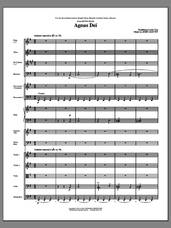 Cover icon of Agnus Dei (from Petite Mass) (COMPLETE) sheet music for orchestra/band (chamber ensemble) by John Leavitt, intermediate skill level