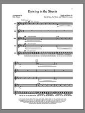 Cover icon of Dancing in the Streets sheet music for choir (SSAA: soprano, alto) by Deke Sharon, Anne Raugh, Ivy Hunter, Marvin Gaye and William Stevenson, intermediate skill level