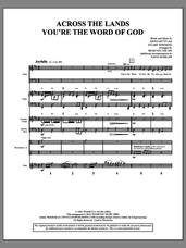 Cover icon of Across the Lands You're the Word of God (COMPLETE) sheet music for orchestra/band by Brad Nix, Keith & Kristyn Getty, Keith Getty and Stuart Townend, intermediate skill level