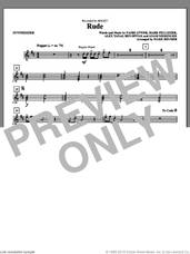 Cover icon of Rude (arr. Mark Brymer) (complete set of parts) sheet music for orchestra/band by Mark Brymer, Adam Messinger, Alex Tanas, Ben Spivak, MAGIC!, Mark Pellizzer and Nasri Atweh, intermediate skill level