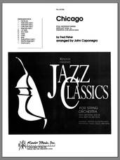 Cover icon of Chicago (COMPLETE) sheet music for full orchestra by John Caponegro and Fred Fisher, intermediate skill level