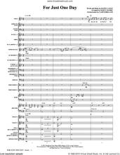 Cover icon of For Just One Day (COMPLETE) sheet music for orchestra/band by Marty Hamby and Danny Lance, intermediate skill level