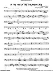 Cover icon of In the Hall of the Mountain King sheet music for two tubas (tuba 1) by Edvard Grieg and Frank J. Halferty, classical score, intermediate skill level