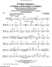 Cover icon of If I Had A Hammer, a tribute to pete seeger sheet music for orchestra/band (bass) by Pete Seeger, Kirby Shaw, Peter, Paul & Mary, Trini Lopez and Lee Hays, intermediate skill level