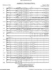 Cover icon of America, the Beautiful (COMPLETE) sheet music for orchestra/band by Samuel Augustus Ward, Katherine Lee Bates and Ryan Nowlin, intermediate skill level