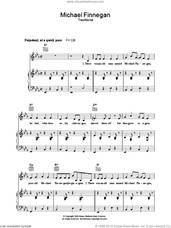 Cover icon of Michael Finnegan sheet music for voice, piano or guitar by Sam Hinton and Miscellaneous, intermediate skill level