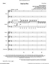 Cover icon of Soul on Fire (COMPLETE) sheet music for orchestra/band by Matt Maher, Brenton Brown, David Carr, Mac Powell, Mark Lee, Marty Hamby, Tai Anderson and Third Day, intermediate skill level