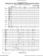 Cover icon of Pirates of the Caribbean: Dead Man's Chest (COMPLETE) sheet music for concert band by Paul Murtha and Hans Zimmer, intermediate skill level