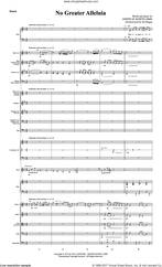 Cover icon of No Greater Alleluia (COMPLETE) sheet music for orchestra/band by Joseph M. Martin, intermediate skill level
