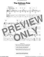 Cover icon of The Gallows Pole sheet music for guitar solo, intermediate skill level