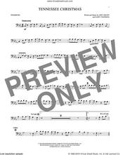 Cover icon of Tennessee Christmas sheet music for trombone solo by Amy Grant and Gary Chapman, intermediate skill level
