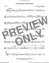 Cover icon of Tennessee Christmas sheet music for trumpet solo by Amy Grant and Gary Chapman, intermediate skill level