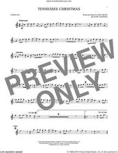 Cover icon of Tennessee Christmas sheet music for tenor saxophone solo by Amy Grant and Gary Chapman, intermediate skill level